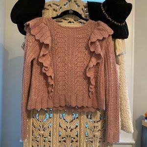LoveShackFancy sweater
